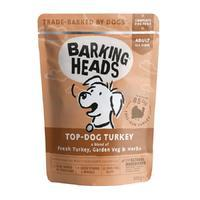 BARKING HEADS Top Dog Turkey - kapsička, 300 g